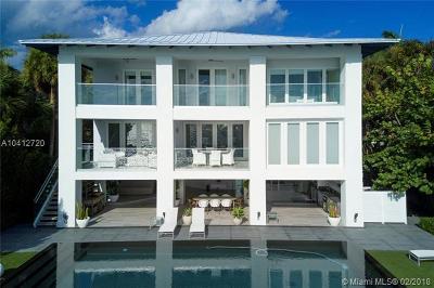Key Biscayne Single Family Home For Sale: 750 S Mashta Dr
