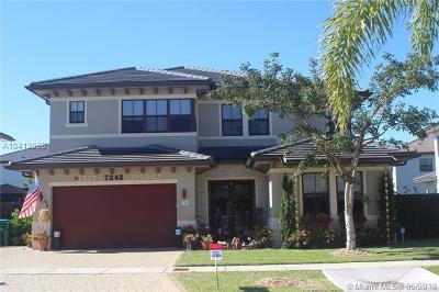 Single Family Home For Sale: 7242 SW 163rd Ct