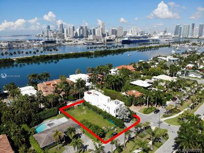 Miami Beach Single Family Home For Sale: 226 Palm Ave