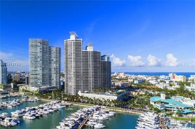 Miami Beach Condo For Sale: 400 Alton Rd #709