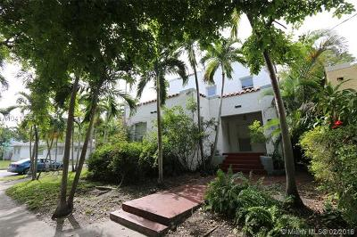 Miami Single Family Home For Sale: 4400 NE 1st Ave