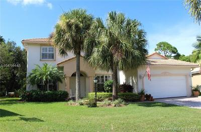 Jupiter Single Family Home For Sale: 184 Jones Creek Dr