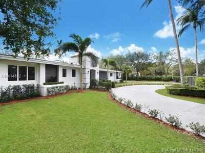 Pinecrest Single Family Home For Sale: 7820 SW 126th Ter