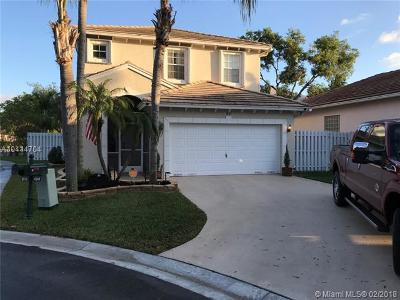 Coconut Creek Single Family Home For Sale: 4849 NW 20th Pl