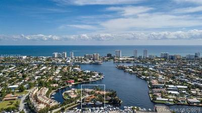 Fort Lauderdale Single Family Home For Sale: 600 Circle Drive