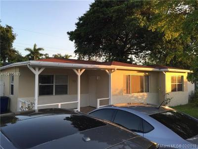 Hallandale Single Family Home For Sale: 713 SW 5th Ct