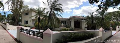Coral gables Single Family Home For Sale: 906 Palermo Av