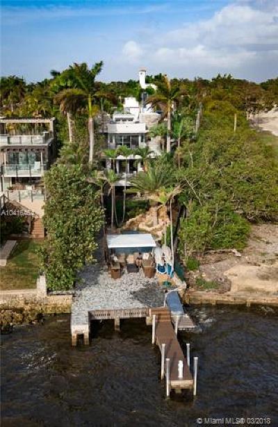 Coconut Grove FL Single Family Home For Sale: $5,900,000