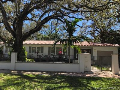 Coral Gables Single Family Home For Sale: 1444 Mantua Ave