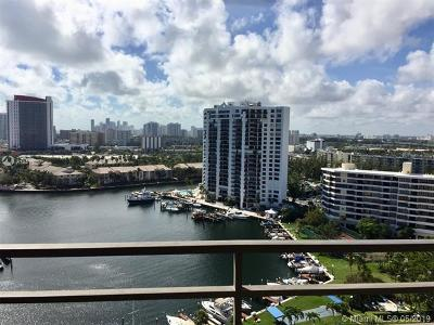 Hallandale Condo For Sale: 2500 Parkview Dr #1801