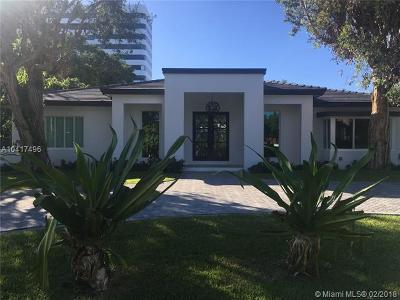 Miami Single Family Home For Sale: 4720 Bay Point Rd