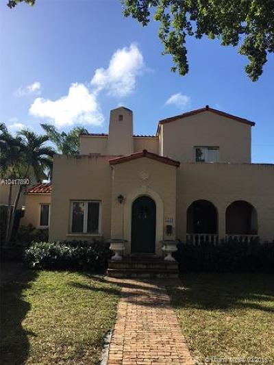 Coral Gables Single Family Home For Sale: 1544 Sopera Ave