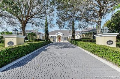 Palm Beach Gardens Single Family Home For Sale: 8120 Man O War Rd