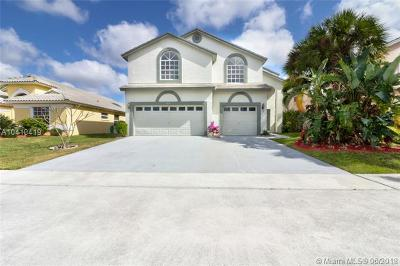 Boynton Beach Single Family Home For Sale: 8616 Windy Cir