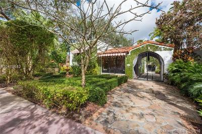 Coral Gables Single Family Home For Sale: 829 Majorca Ave