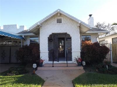 Hollywood Single Family Home For Sale: 1824 Lincoln St