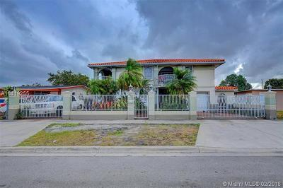 Hialeah Single Family Home For Sale: 770 E 19th St