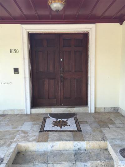 Coral Gables Single Family Home For Sale: 8150 Old Cutler Rd