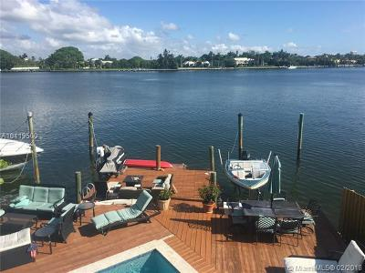 Miami Beach Single Family Home For Sale: 1531 Stillwater Drive