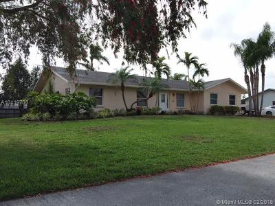 Palmetto Bay Single Family Home For Sale: 8800 SW 177 Ter