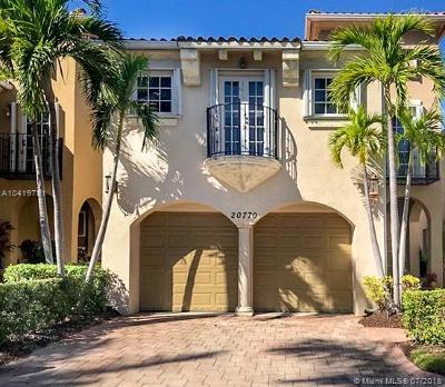 Aventura Single Family Home For Sale: 20770 NE 32nd Pl