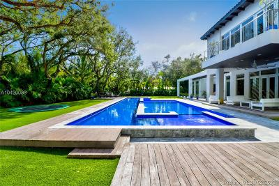 Coconut Grove, Coral Gables, Key Biscayne, Miami, Pinecrest Single Family Home For Sale: 5030 Davis Road