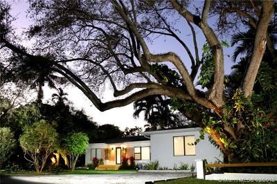 South Miami Single Family Home For Sale: 5781 SW 81 St