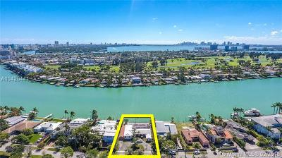 Miami Beach Single Family Home For Sale: 1388 S Biscayne Point Rd