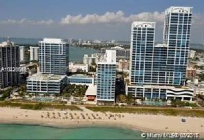 Miami Beach Condo For Sale: 6801 Collins Ave #1110