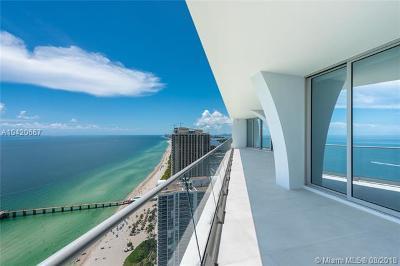 Sunny Isles Beach Condo For Sale: 16901 Collins Ave #3803