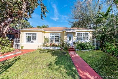 Miami Single Family Home For Sale: 455 NE 75th St