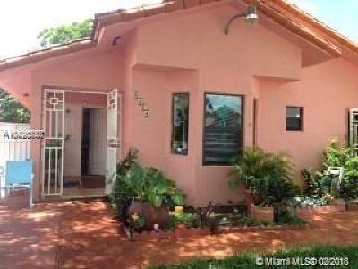 Miami FL Single Family Home For Sale: $320,000