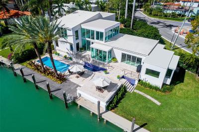 Miami Beach Single Family Home For Sale: 2288 Sunset Dr