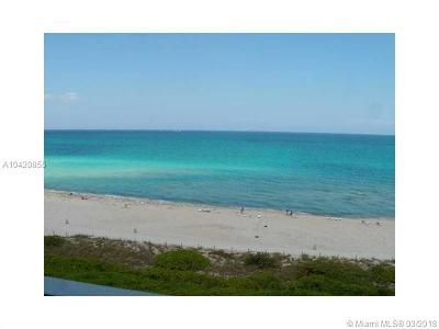 Miami Beach Condo For Sale: 5601 Collins Ave #1006