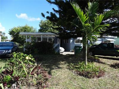 Miami Single Family Home For Sale: 18731 NW 11 Place