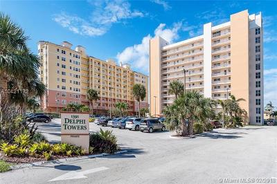 Pompano Beach Condo For Sale: 1391 S Ocean Blvd #206