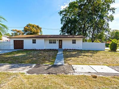Miami Gardens Single Family Home For Sale: 2040 NW 195th St