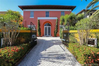 Miami Single Family Home For Sale: 2426 S Miami Ave