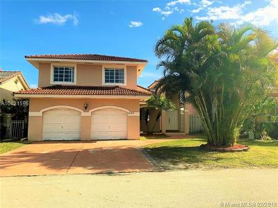Hialeah Single Family Home For Sale: 18189 NW 61st Ct