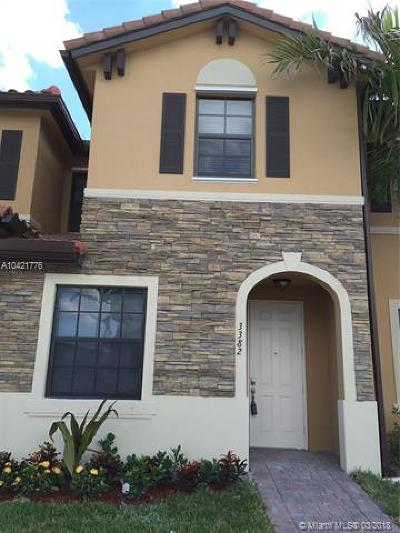 Hialeah Gardens Condo For Sale: 3382 W 92 Pl #1