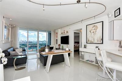 Miami Beach Condo For Sale: 1800 Sunset Harbour Dr #1403