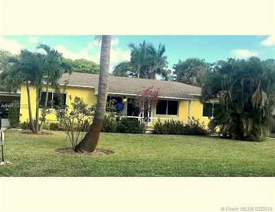 Oakland Park Multi Family Home For Sale: 1383 NE 34th Ct