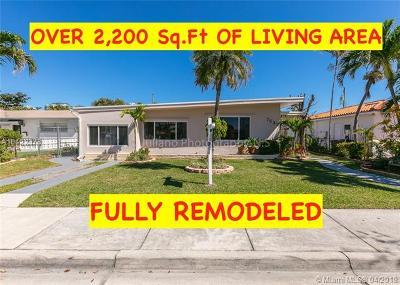 North Bay Village Single Family Home For Sale: 7533 Hispanola Ave