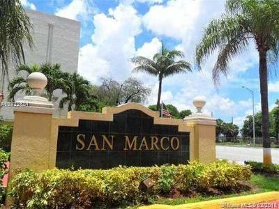 Miami Condo For Sale: 8850 Fontainebleau Blvd #106