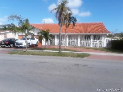 Hialeah Single Family Home For Sale: 4761 W 10th Ave