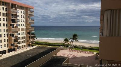 Hillsboro Beach Condo For Sale: 1147 Hillsboro Mile #605S