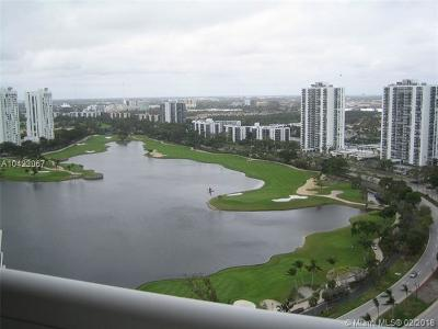 Miami-Dade County Condo For Sale: 20185 E Country Club Drive #2409