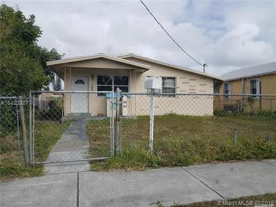 Miami Single Family Home For Sale: 1891 NW 67th St
