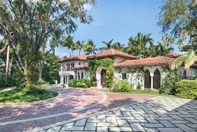 Miami Beach Single Family Home For Sale: 6385 Pinetree Drive Cir