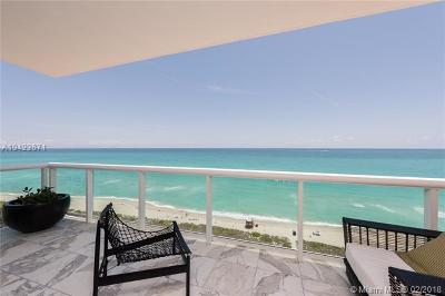 Miami Beach Condo For Sale: 5001 Collins Ave #PH-2